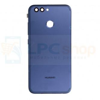 Крышка(задняя) Huawei Nova 2 Синий + кнопки и линза камеры