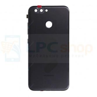 Крышка(задняя) Huawei Nova 2 Черный + кнопки и линза камеры