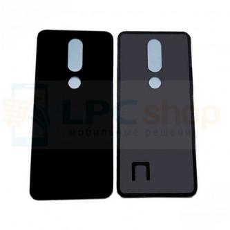 Крышка(задняя) Nokia 5.1 Plus Черный