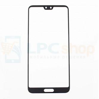 Стекло (для замены) Huawei P20 Pro Черное