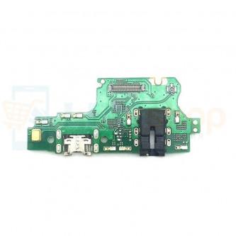 Шлейф разъема зарядки Huawei Y9 2018 (FLA-LX1) плата / разъем гарнитуры/микрофон