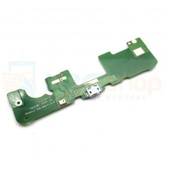 Шлейф разъема зарядки Lenovo Phab Plus (PB1-770M) (плата) и микрофон
