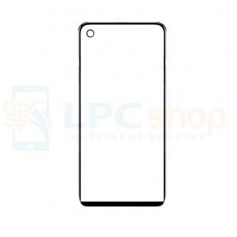 Стекло (для замены) Huawei Honor View 20 Черное