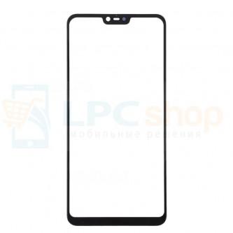 Стекло (для замены) Xiaomi Mi 8 Lite Черное