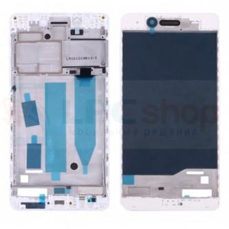 Рамка дисплея Huawei Honor 6C Белая