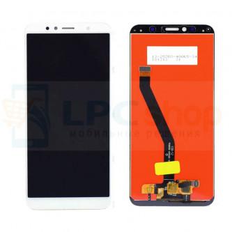 Дисплей Huawei Honor 7A Pro / Honor 7C / Y6 2018 / Y6 Prime 2018 в сборе с тачскрином Белый - Оригинал LCD