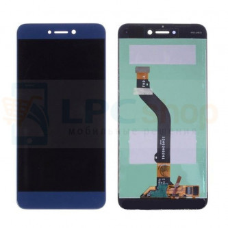 Дисплей Huawei Honor 8 Lite в сборе с тачскрином Синий - Оригинал LCD