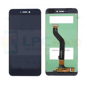 Дисплей Huawei Honor 8 Lite в сборе с тачскрином Черный - Оригинал LCD