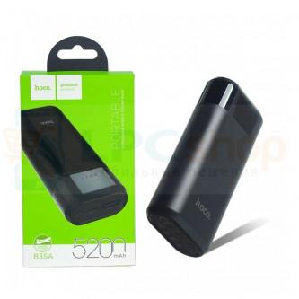 Аккумулятор (Power Bank) Hoco B35A 5200 mAh (2A) Черный