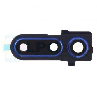 Стекло задней камеры Huawei Honor View 20 Синее в рамке
