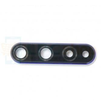 Стекло (для замены) камеры Huawei Honor 20 Синее в рамке