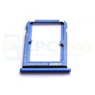Лоток сим карт Xiaomi Mi 9 SE Синий