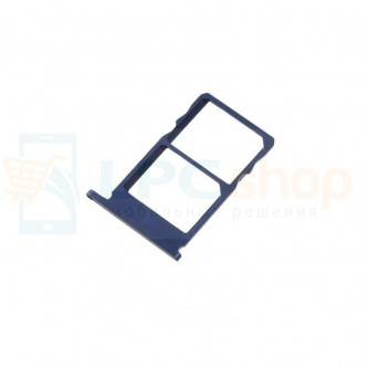 Лоток сим карт Nokia 5.1 Синий