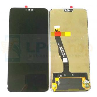 Дисплей Huawei Honor 8X / Honor 9X Lite в сборе с тачскрином Черный - Оригинал LCD