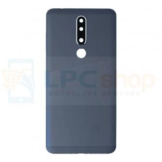 Крышка(задняя) Nokia 3.1 Plus Черный
