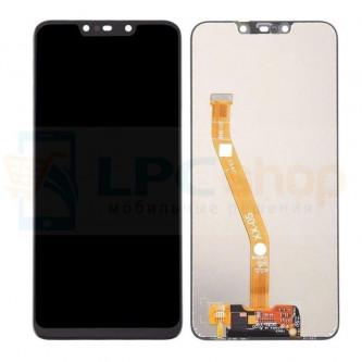 Дисплей Huawei Nova 3i в сборе с тачскрином Черный - Оригинал LCD