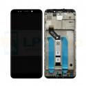 Дисплей Xiaomi Redmi 5 Plus с тачскрином в рамке Черный - Оригинал LCD