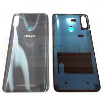 Крышка(задняя) Asus ZB631KL (ZenFone Max Pro M2) Серый (без линзы камеры)