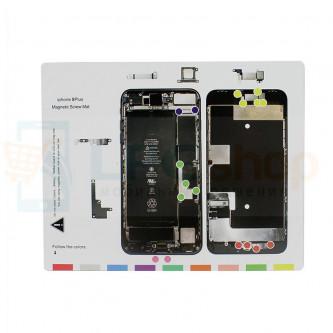 Магнитный коврик (Screw Magnetic mat) для iPhone 8 Plus