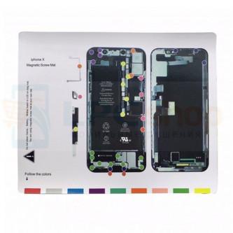 Магнитный коврик (Screw Magnetic mat) для iPhone X