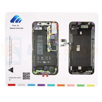 Магнитный коврик (Screw Magnetic mat) для iPhone XS