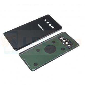 Крышка(задняя) Samsung S10 G973F Черная с линзой камеры