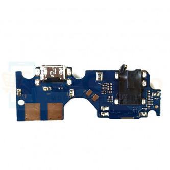 Шлейф для Asus ZB631KL (ZenFone Max Pro M2) плата на системный разъем/разъем гарнитуры/микрофон