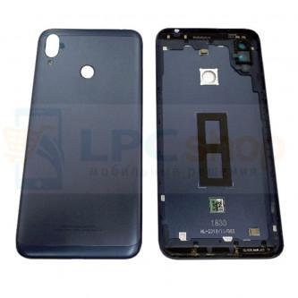 Крышка(задняя) Asus ZB633KL (ZenFone Max M2) Темно-Синий