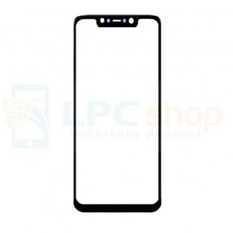 Стекло (для замены / переклейки) Xiaomi Pocophone F1 Черное