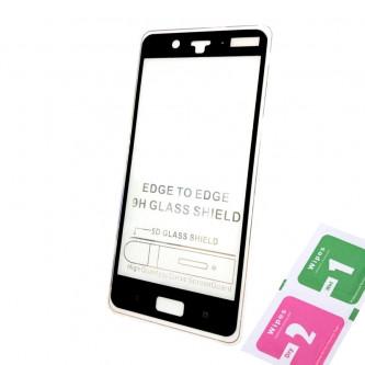 Защитное стекло (Полное покрытие) для для Nokia 8 Черное