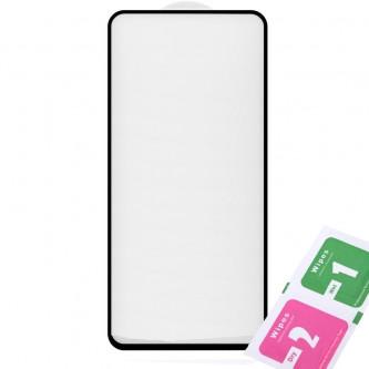 Защитное стекло (Полное покрытие) для для Samsung A80 A805F Черное
