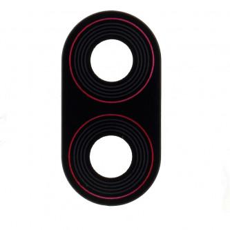 Стекло задней камеры Xiaomi Pocophone F1 Черное