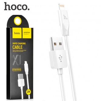 Кабель Lightning Hoco X1 Белый