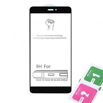 Защитное стекло (Полное покрытие) для для Xiaomi Redmi Note 4X / Note 4 Global Version Черное