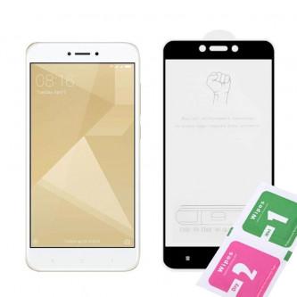 Защитное стекло (Полное покрытие) для для Xiaomi Redmi 4X Черное