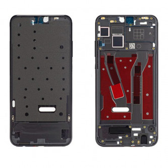 Средняя часть / рамка дисплея Huawei Honor 8X Черная