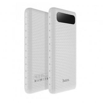 Аккумулятор (Power Bank) Hoco B20A 20000 mAh (2A, 2USB, с дисплеем) Белый
