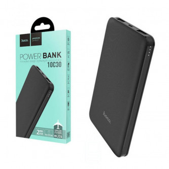 Аккумулятор (Power Bank) Hoco J26 10000 mAh (2A, 2USB) Черный