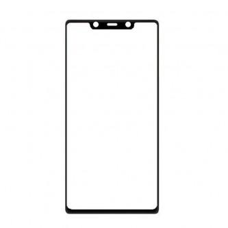 Стекло (для замены / переклейки) Xiaomi Mi 8 SE Черное
