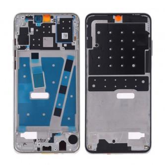 Средняя часть / рамка дисплея Huawei P30 Lite Серебро