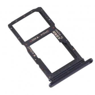 Лоток сим карты и карты памяти Huawei Honor 9X China version (не подходит к STK-LX1) Черный