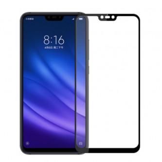 Защитное стекло (Полное покрытие) для Xiaomi Mi 8 Lite Черное