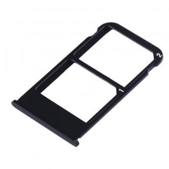 Лоток сим карты памяти Meizu 16 Plus Черный