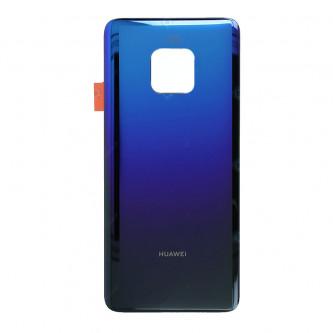 Крышка(задняя) Huawei Mate 20 Pro Синий c переливом (Twilight)