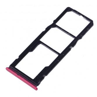 Лоток сим карт Xiaomi Redmi 7 Красный