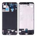Рамка дисплея Samsung Galaxy A20 A205F Черная