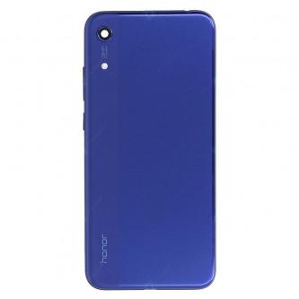 Крышка(задняя) Huawei Honor 8A Синий (без выреза под отпечаток)
