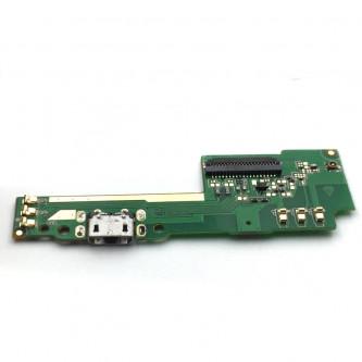 Шлейф разъема зарядки Lenovo Phab2 (PB2-650M) и микрофон