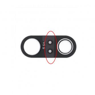 Стекло задней камеры Huawei P20 Pro Черное