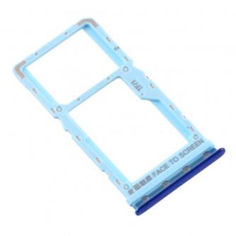 Лоток сим карты и карты памяти Xiaomi Mi A3 Синий